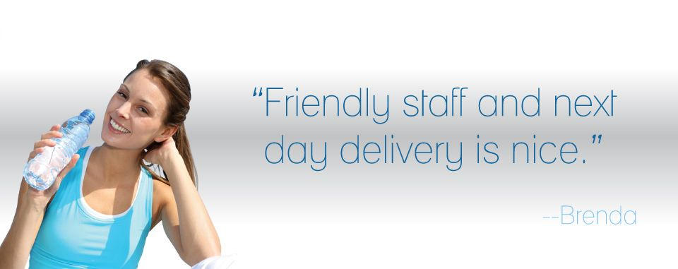 Friendly staff and next day delivery is nice.